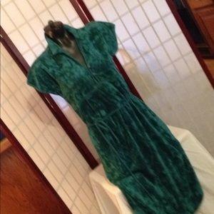 VINTAGE C'EST LA FEMME TERRY CLOTH DRESS SIZE 10